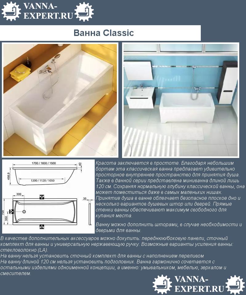 Ванна Classic