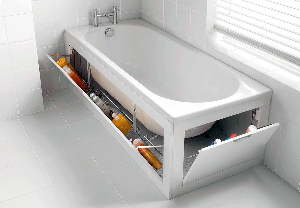 Функциональный экран для ванны