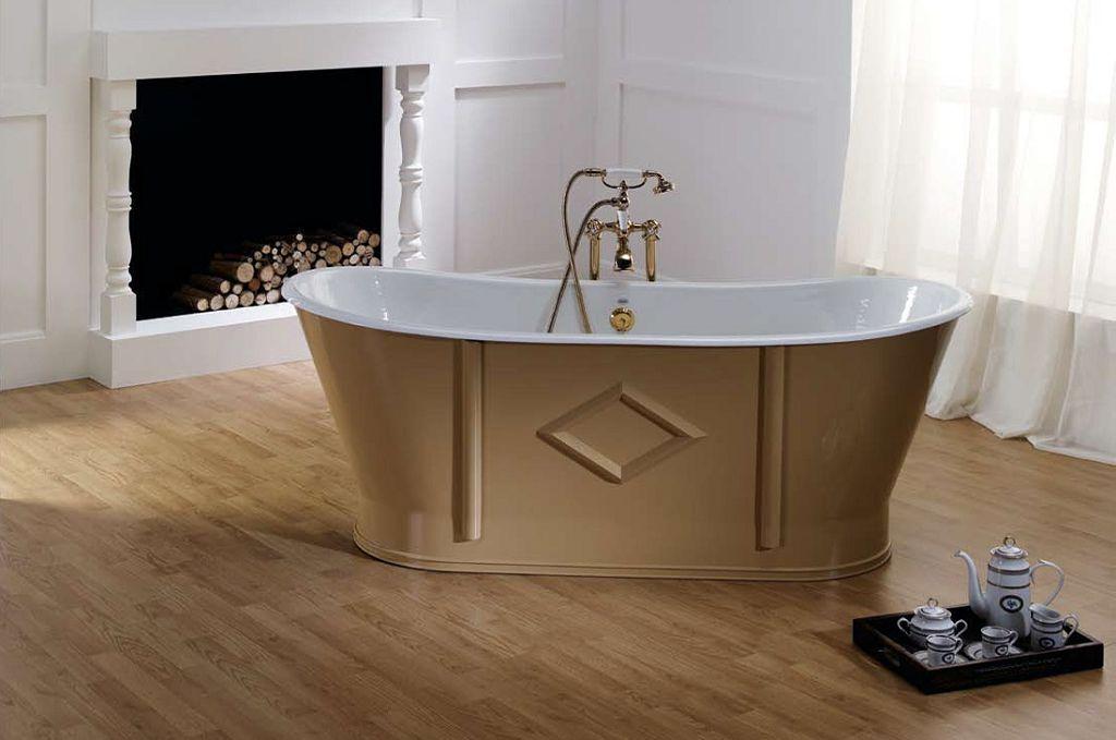 Один из видов чугунных ванн