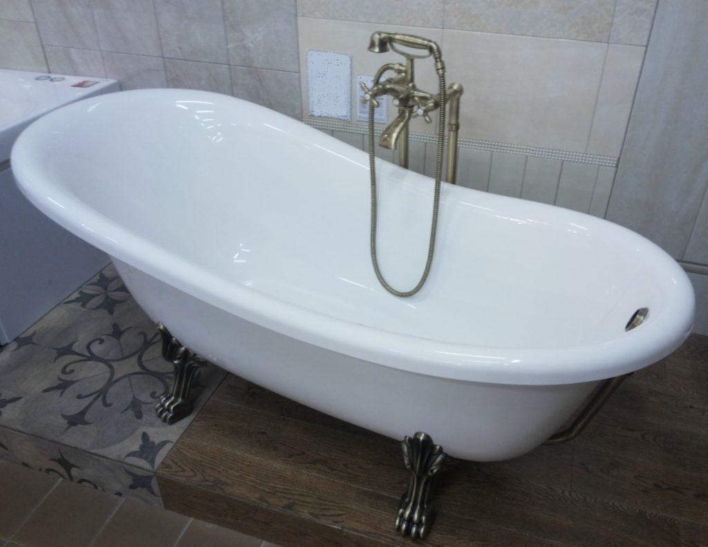Ванна из литьевого мрамора MARMITE ROMANCE