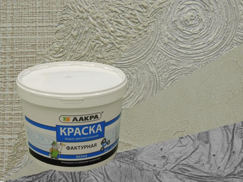 Стоит отметить, что для фактурной отделки стен понадобится значительный расход структурной краски – порядка 500-1500 г/м 2