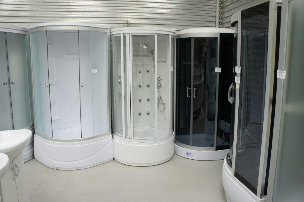 Душевые кабины закрытого типа