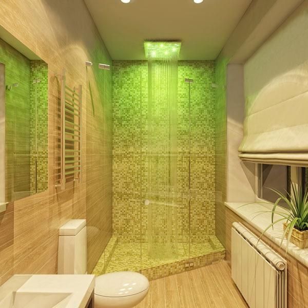 Светодиодный тропический душ