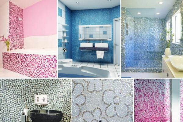 Мозаика для ванной: практичность и красота
