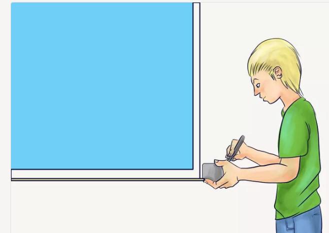 Измерьте ширину и высоту дверных и оконных проемов
