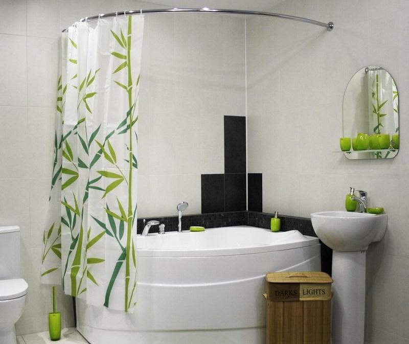 Тканевые занавески для ванной