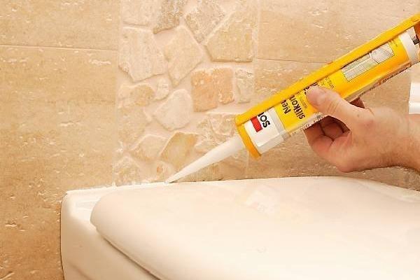 Выбираем герметик для ванны