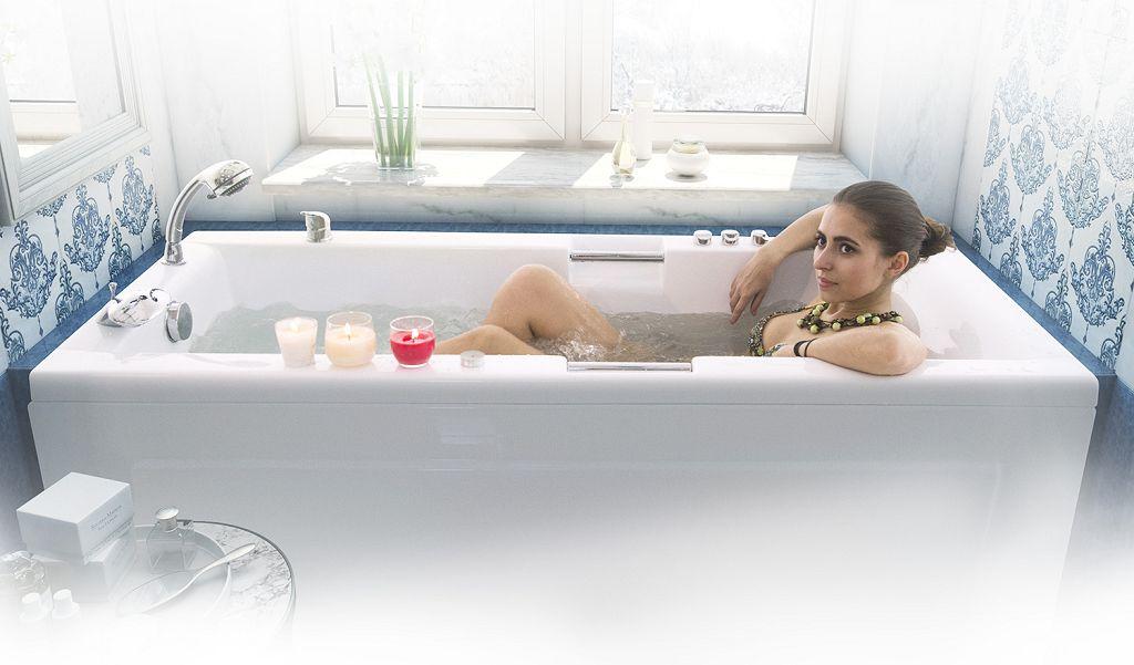 Эксплуатируйте ванну правильно и бережно