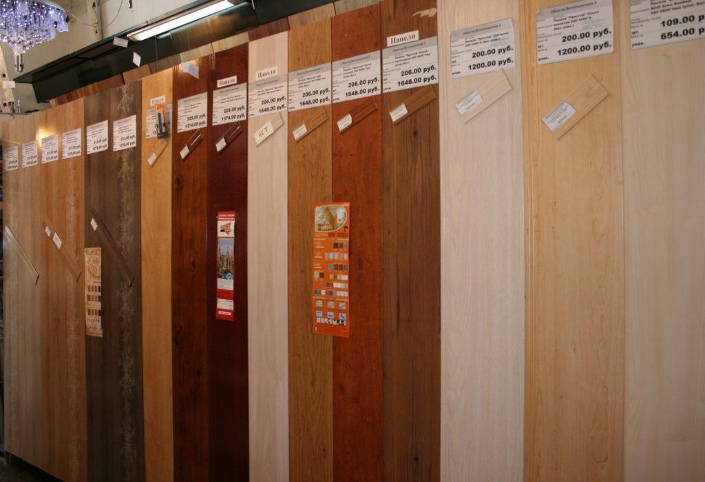 Выбор панелей для отделки