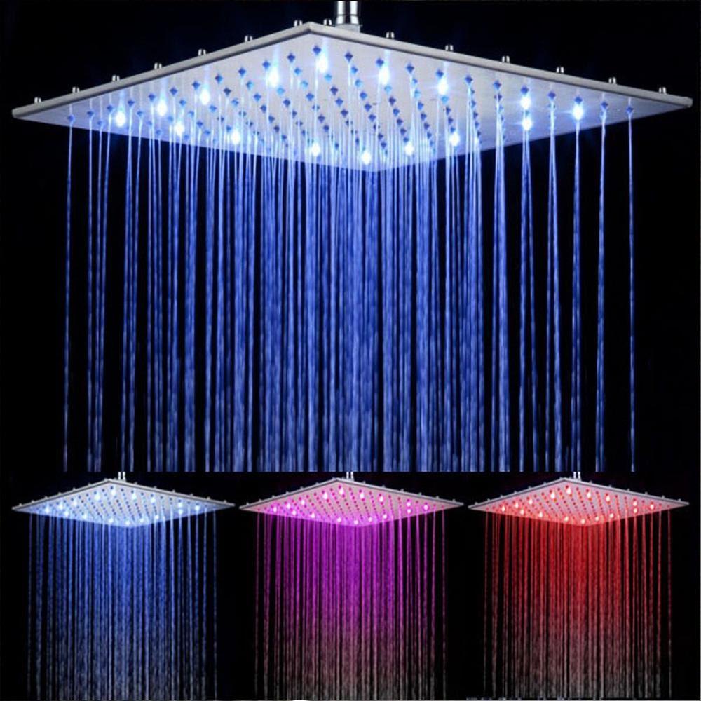 Лейки с LED подсветкой