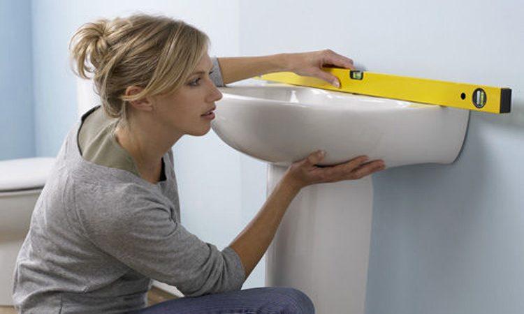 Стандартная высота установки раковины в ванной комнате