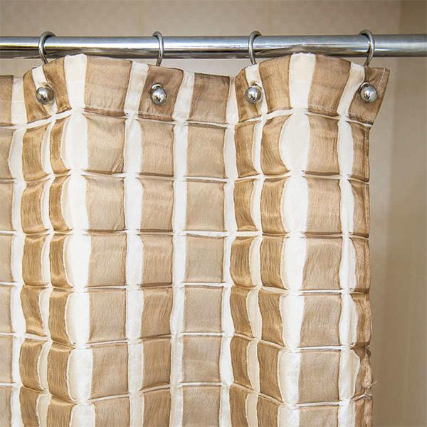 Как повесить угловую шторку в ванной