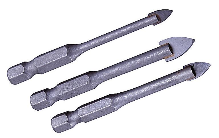 Сверло для плитки с копьевидным наконечником