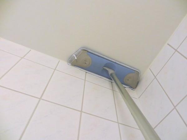 Крашеный потолок можно мыть