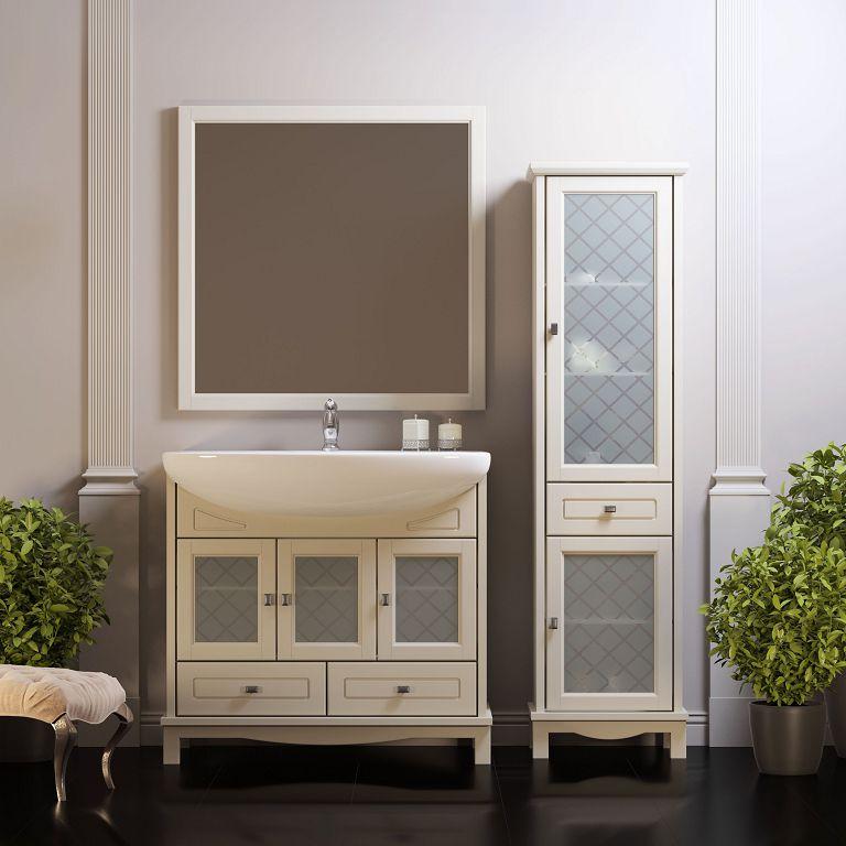 Мебельдолжна гармонировать со стилем интерьера ванной комнаты