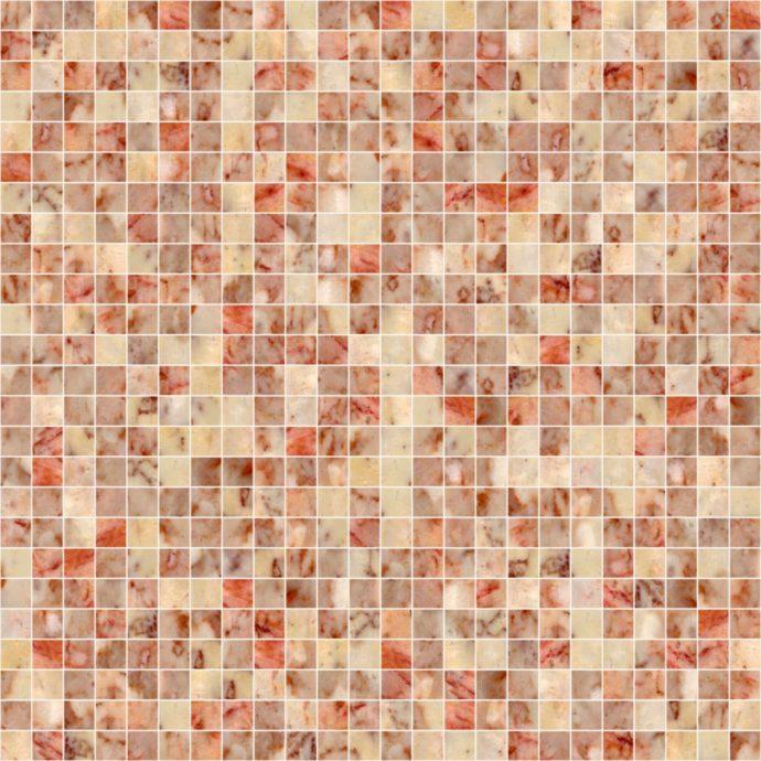Розовая мозаика