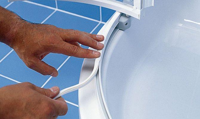 Уплотнители необходимы для предотвращения попадания воды из душевой кабины на пол