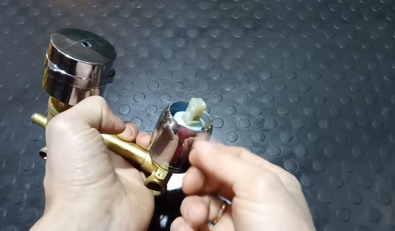 Ручка демонтирована