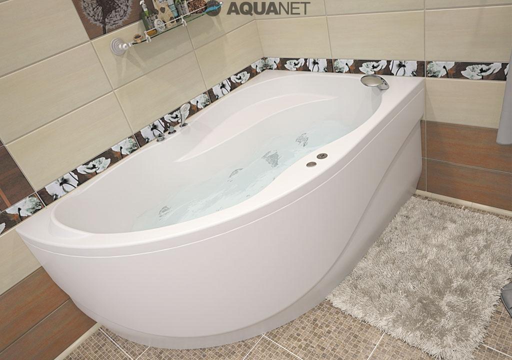 Акриловая ванна Aquanet Graciosa 150x90