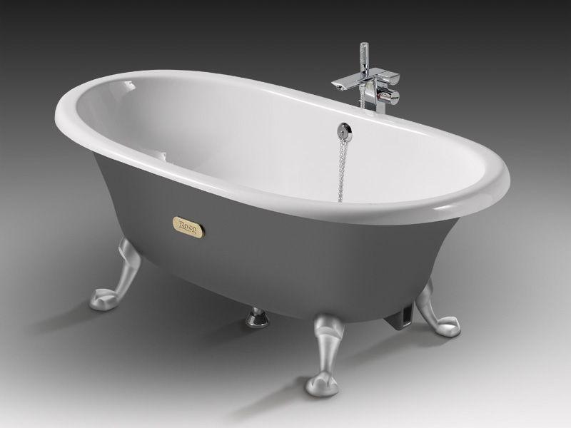 Чугунная ванна - фото