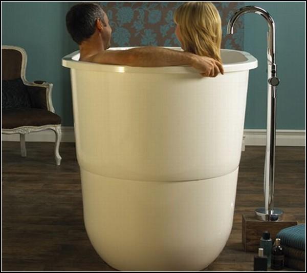 Даже маленькая ванна должна быть удобной