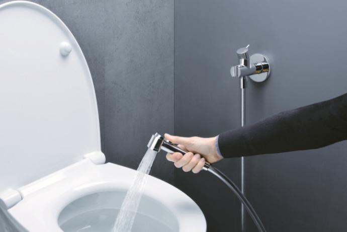 Гигиенический душ со встраиваемым смесителем