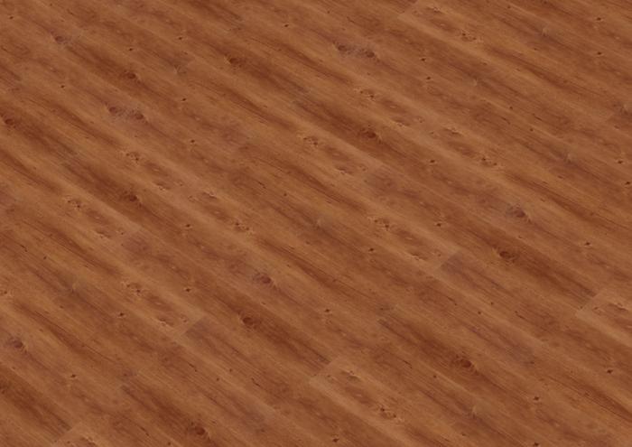 ПВХ плитка Thermofix, оттенок красная сосна