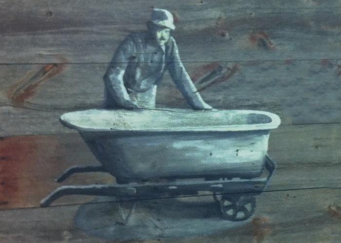Рисунок - транспортировка ванны