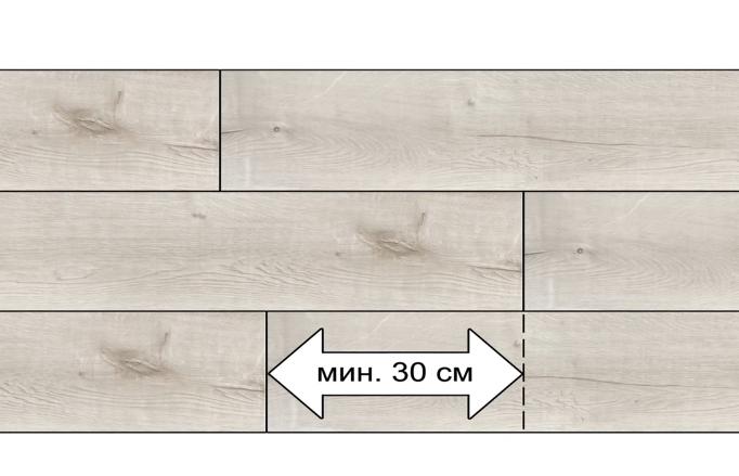 Ряды плитки укладываются со смещением