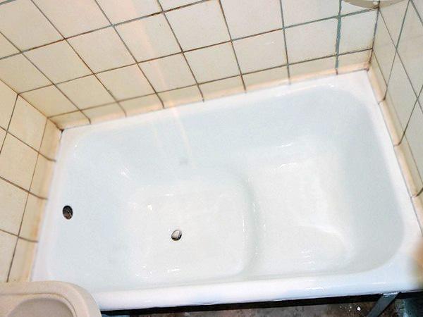 Сидячая ванна прямоугольная