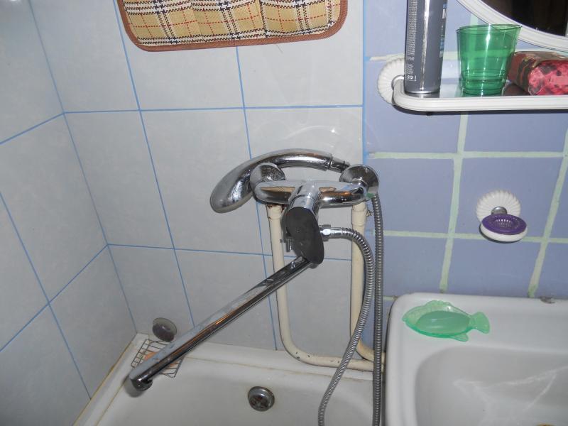 Смеситель используется для раковины и ванны
