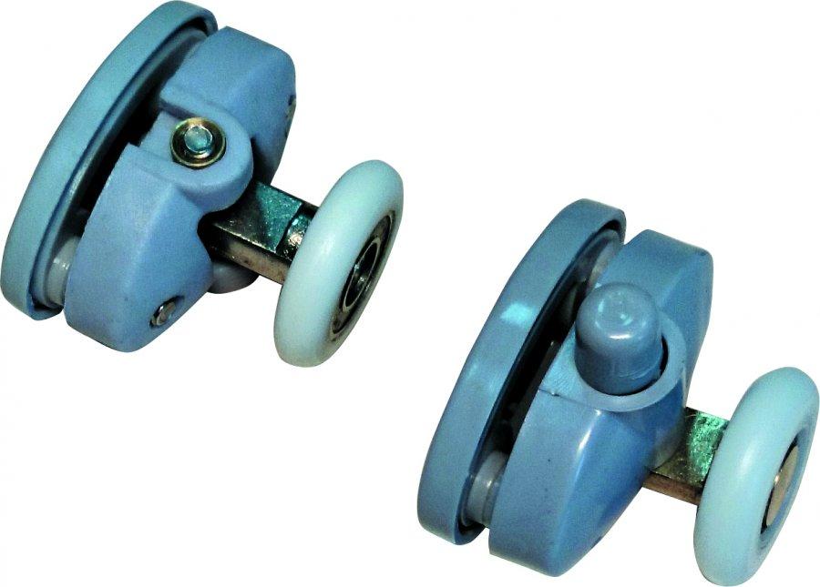 Удостоверьтесь, что колесики роликов подходят по диаметру