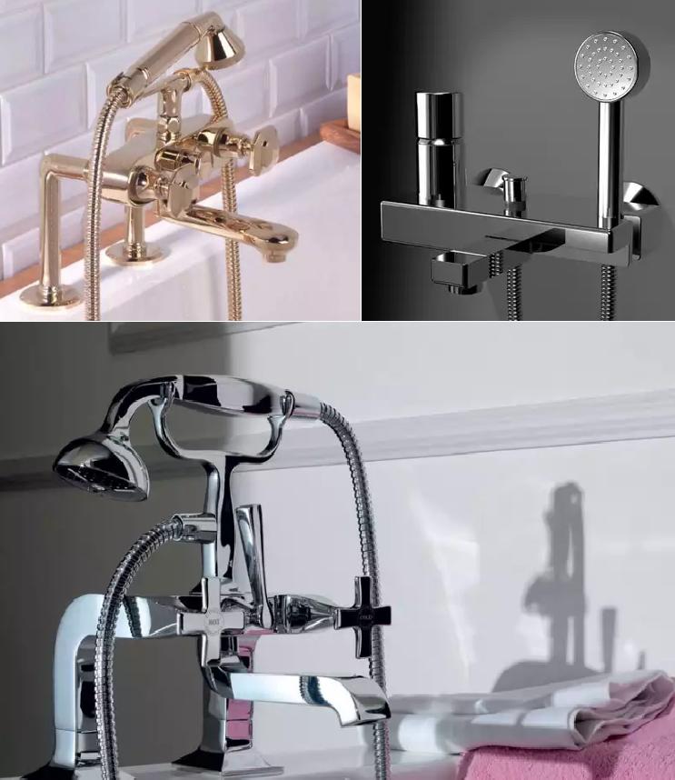 Смеситель для ванной с душем: какой выбрать?