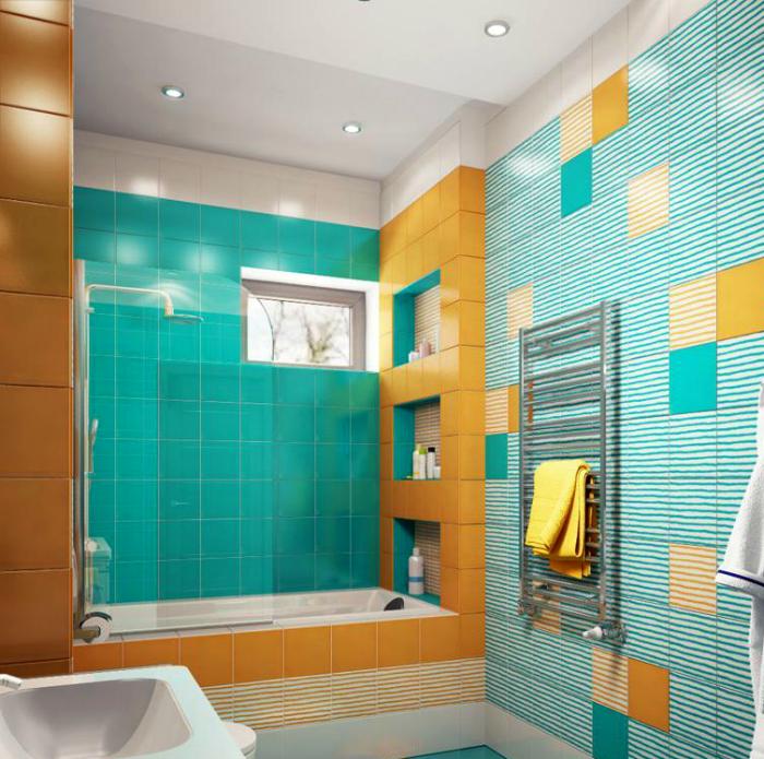 Небольшая ванна прекрасно вписывается в пространство небольшого помещения