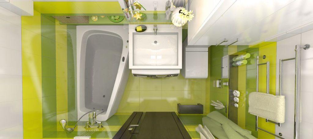 Лучше всего сотавить план ванной комнаты, замерив все расстояния, чтобы наиболее удачно разместить сантехнику