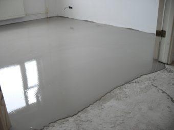 Наливной бетон