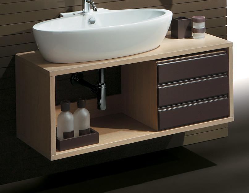 раковина с тумбой в ванную фото