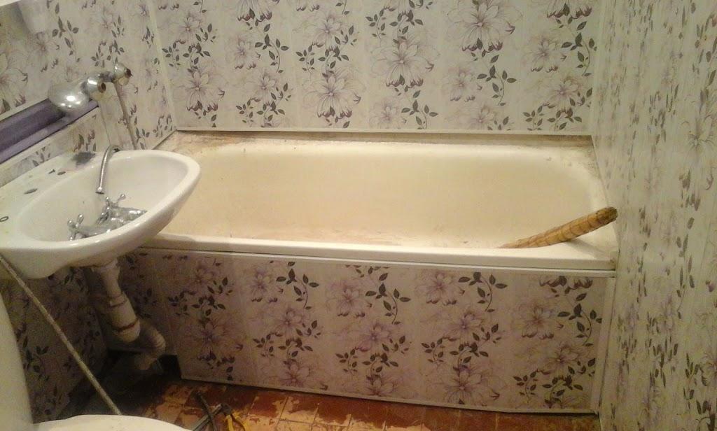 Экран под ванну из панелей пвх своими руками
