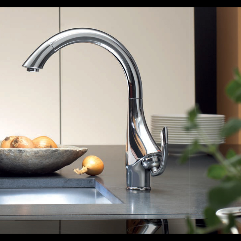 GROHE StarLight - качественный кухонный смеситель