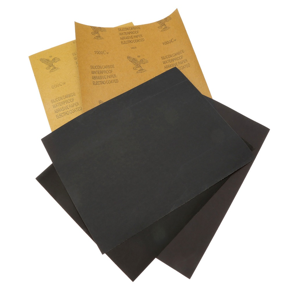 Водостойкая шлифовальная бумага