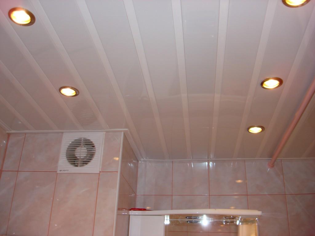 Потолочные панели для ванной