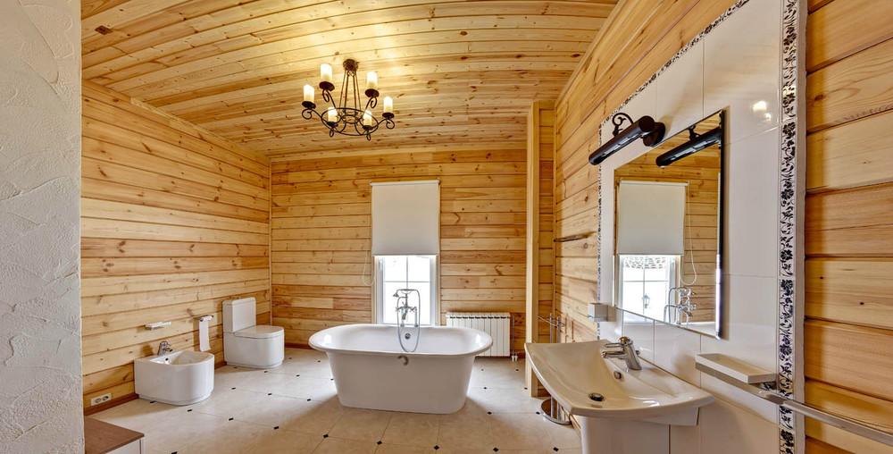 отделка комнат в деревянном доме фото этой части города