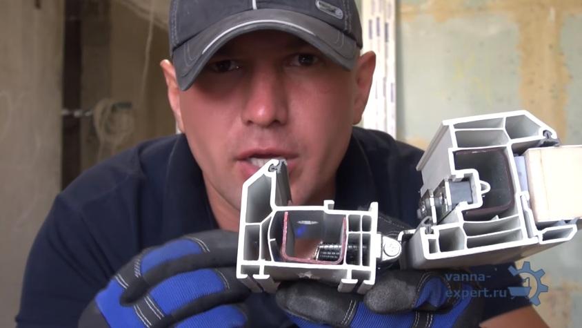 Камеры в профиле изолированные друг от друга