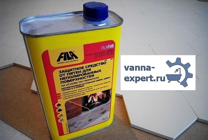 Защитный состав для обработки поверхности плитки