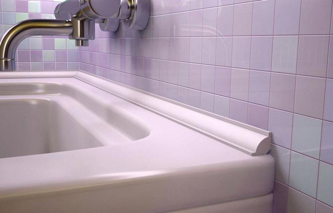 Уголок для ванны