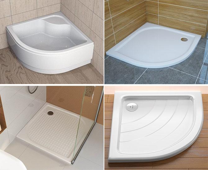 Поддоны в ванну