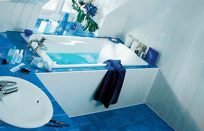 Стационарный экран для ванны