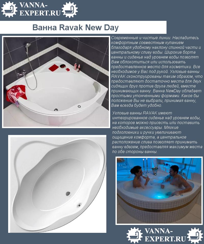 Ванна Ravak New Day