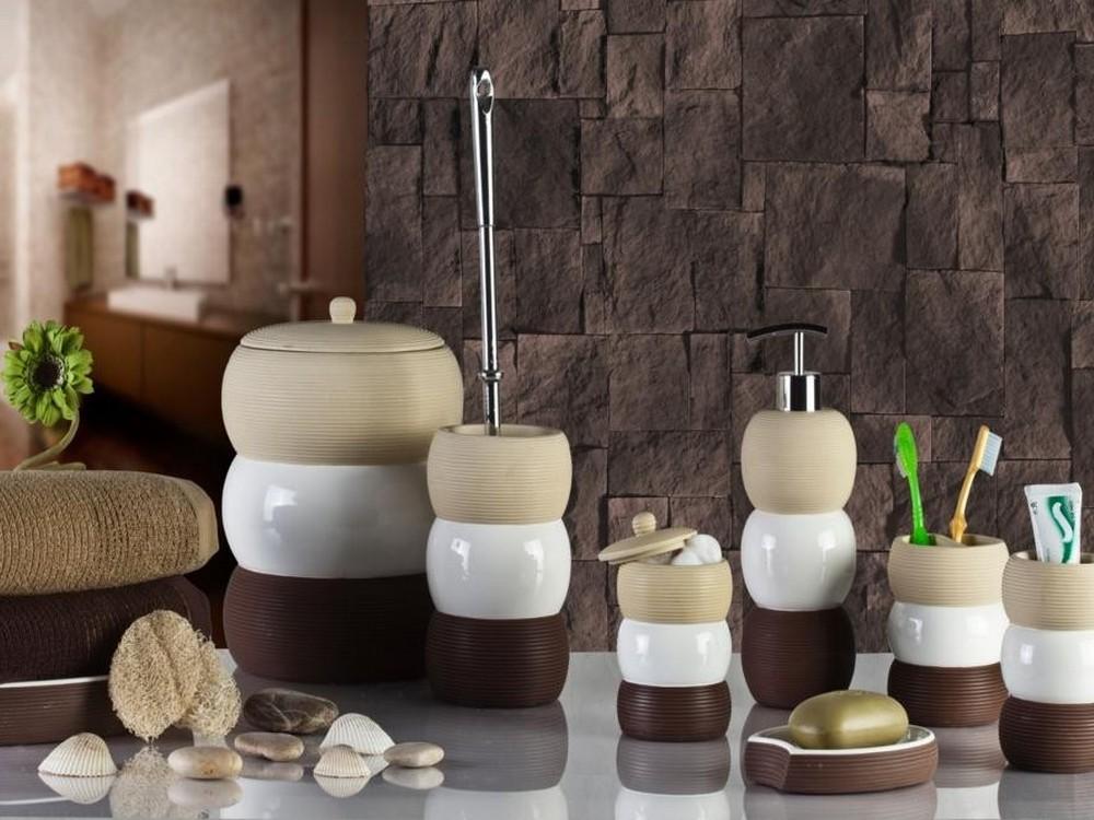 Набор аксессуаров для стильной ванной