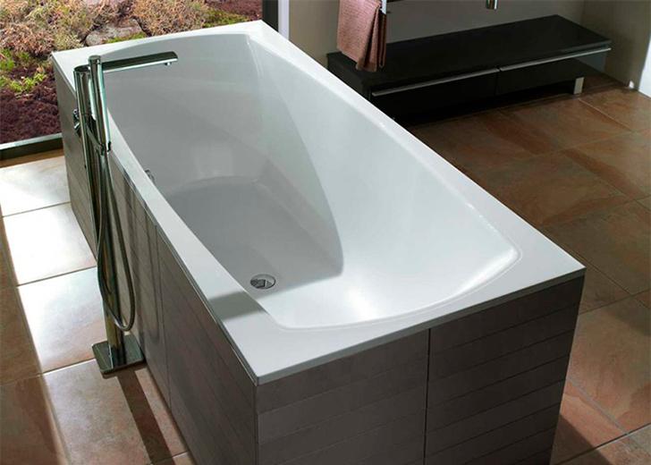 Прямоугольная ванна из кварила